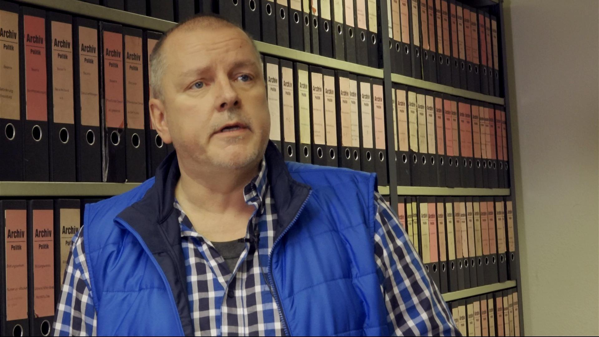 Alexander Wagner leitet das Archiv der Badischen Neuesten Nachrichten.