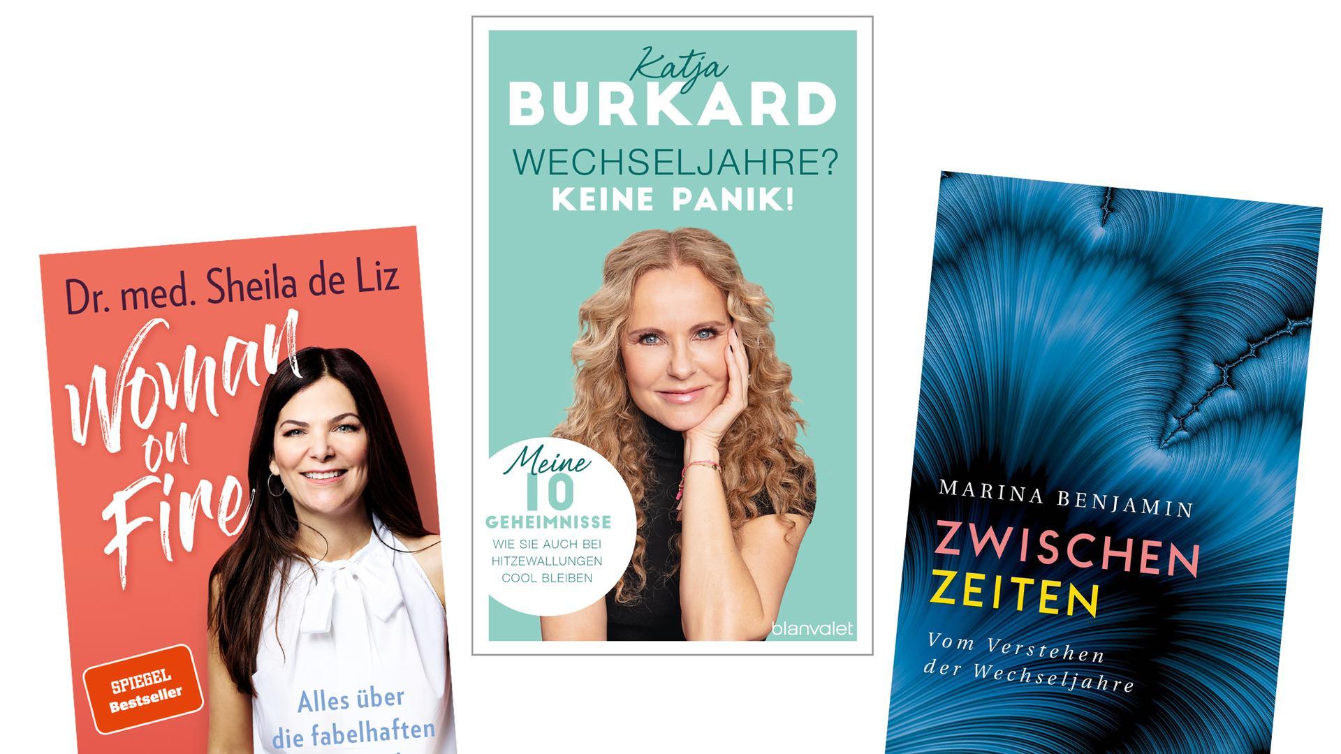 Drei Bücher über die Wechseljahre, die unterschiedlicher kaum sein könnten. Jedes hat seine eigenen Stärken.
