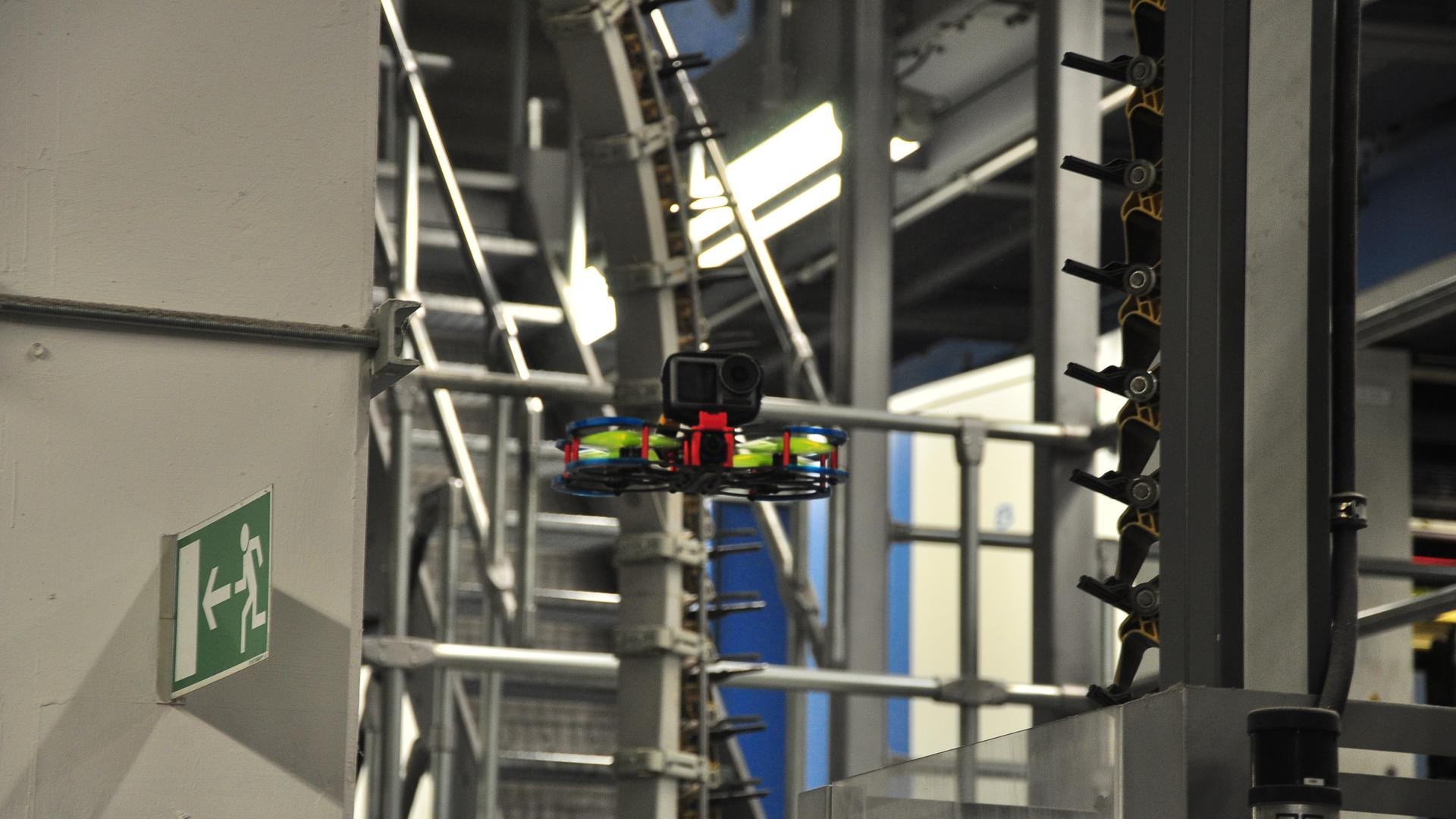 Drohne mit GoPro