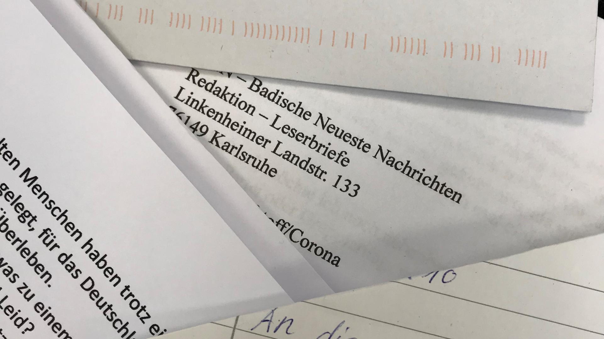 Fast täglich erreichen die BNN noch handgeschriebene Leserbriefe. Doch längst kommen die meisten per Mail ins Haus.