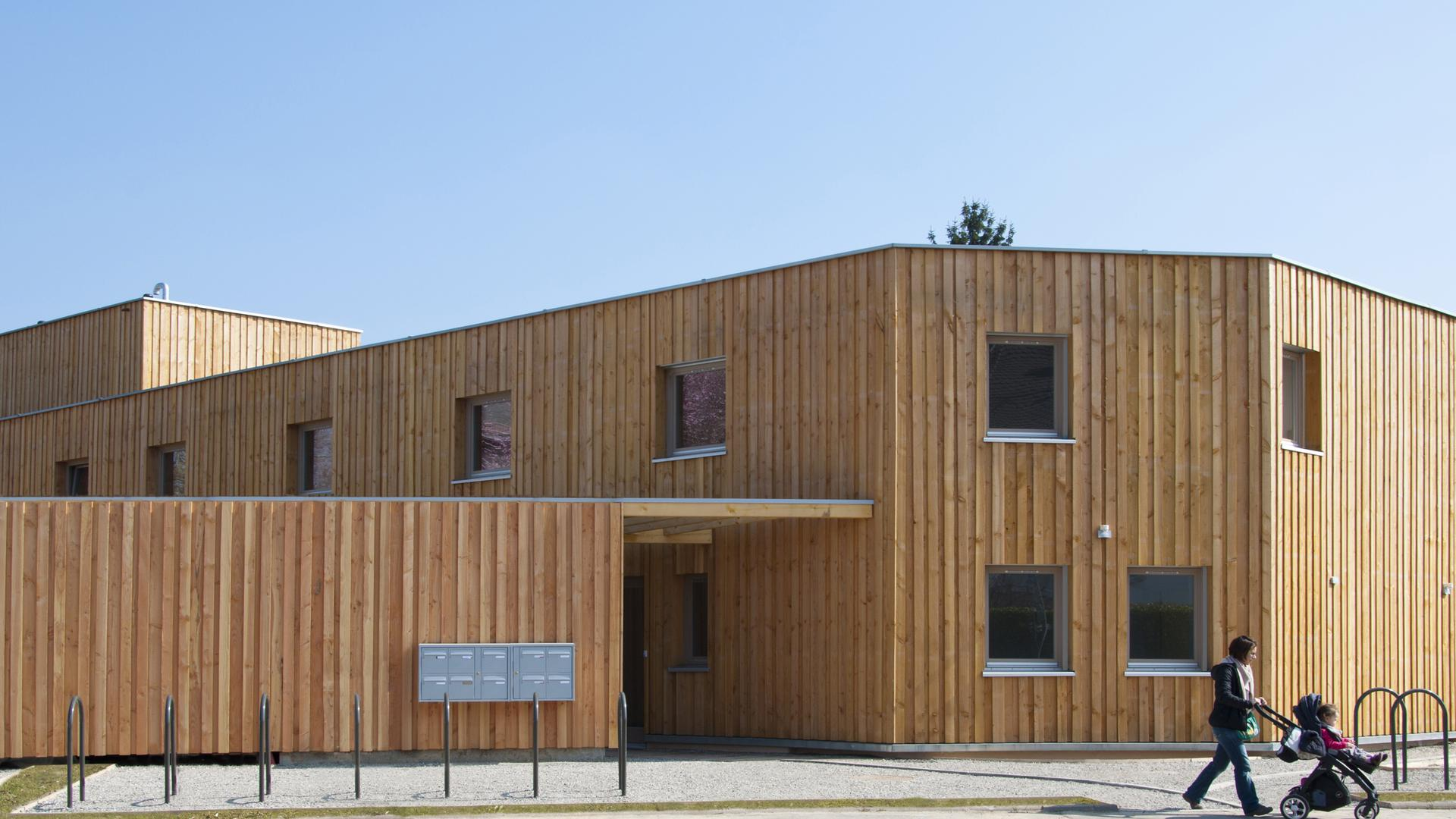 Nachhaltig bauen: Der Making Hof in Straßburg