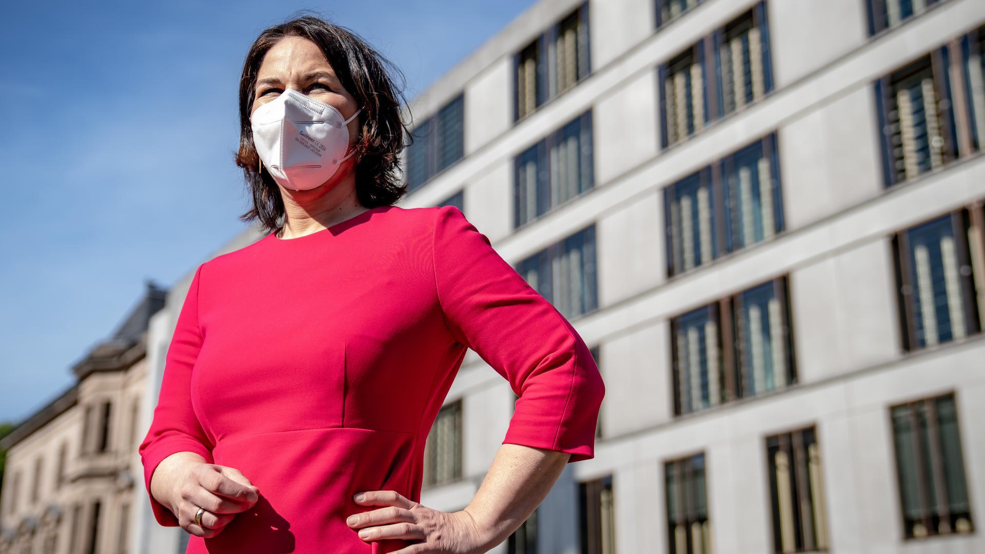 Annalena Baerbock, Bundesvorsitzende von Bündnis 90/Die Grünen, und Kanzlerkandidatin.