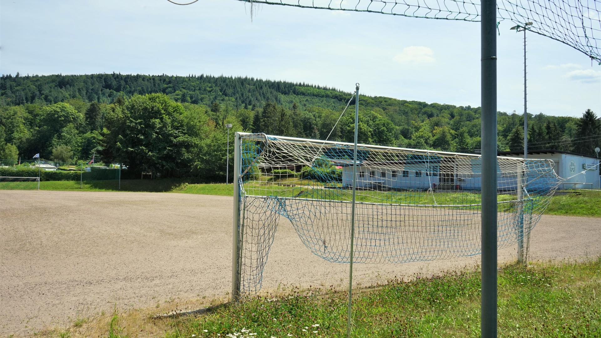 Fußball-Platz