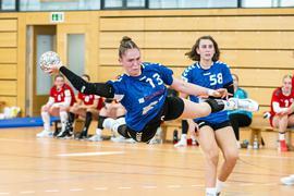 Endstation Viertelfinale: Ariane Pfundstein (links) und Franka Riedl verpassten mit den Handball-A-Mädchen der SG Steinbach/Kappelwindeck den Einzug ins Final-Four-Turnier.