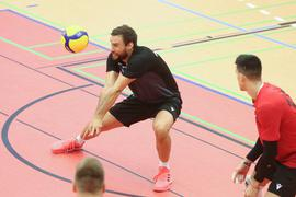 Bühler Volleyball Florian Ringseis in Aktion