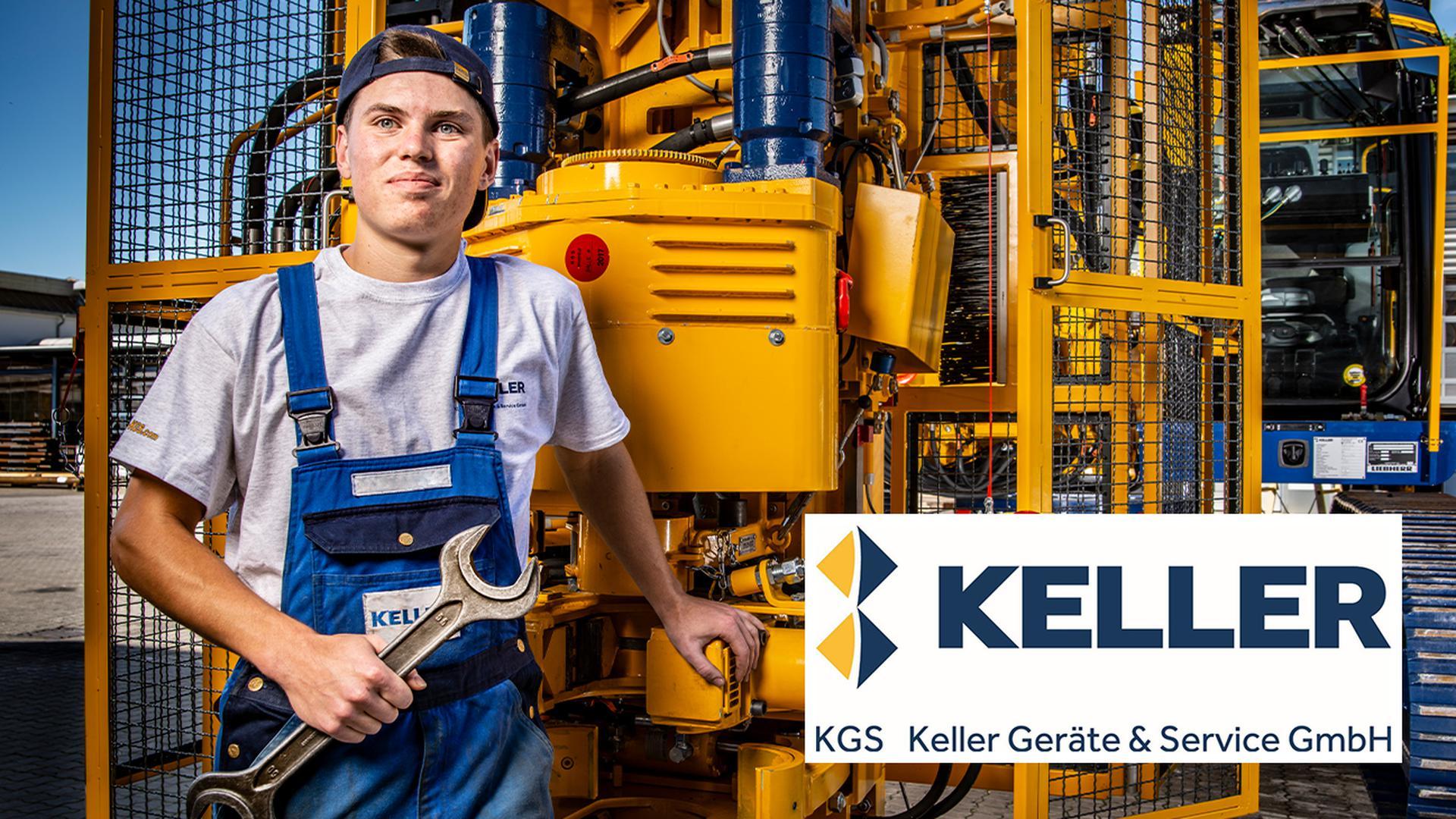 Ausbildungsmöglichkeiten bei KGS Keller Geräte & Service GmbH