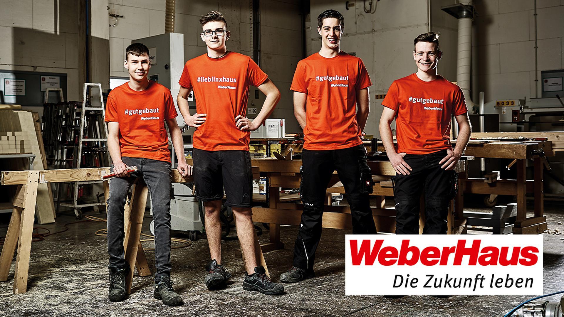 Ausbildung bei WeberHaus - jetzt bewerben!