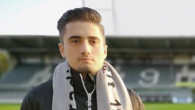Qualität an der Konsole: Luca Alesi hat es in den Kader des eSport-Teams des Fußball-Zweitligisten SV Sandhausen geschafft, das in der VBL Club Championship an den Start geht.