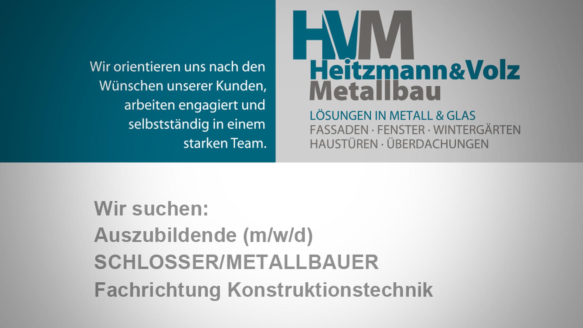 Vielseite Ausbildungs- und Studienmöglichkeiten bei Heitzmann & Volz