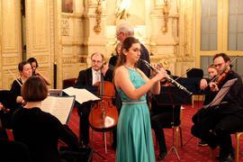 Mehrere Musiker im Casino Baden-Baden