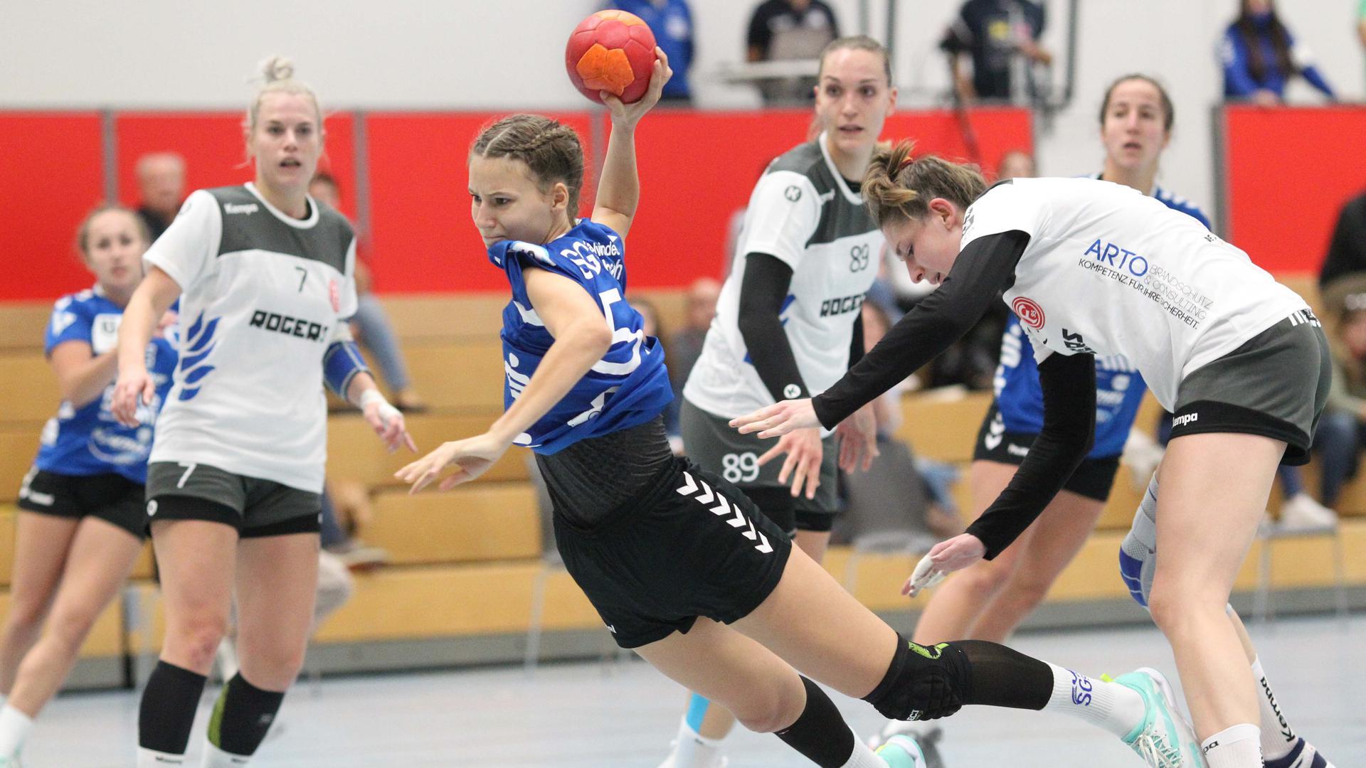 Junge Garde: Lisa Schipper gehört bei der SG Steinbach/Kappelwindeck zum Kreis der Spielerinnen, die als A-Jugendliche auch schon Drittliga-Luft schnupperten.