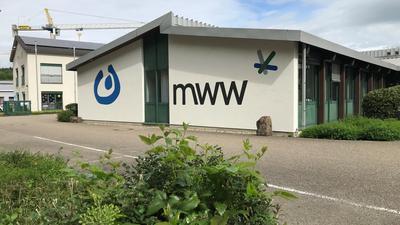 Das Gebäude der Murgtal-Werkstätten in Ottenau von außen.