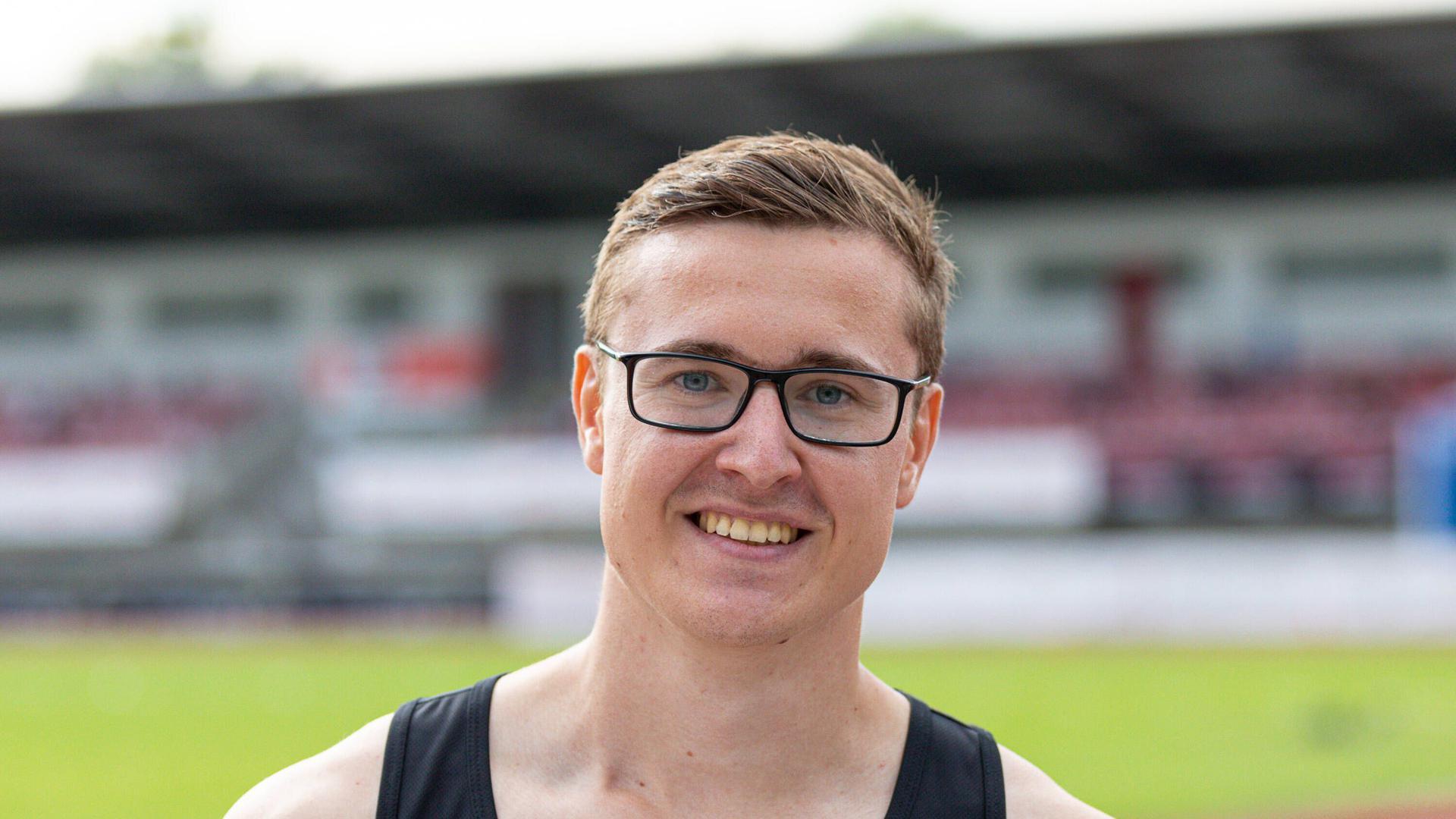 Auf dem Weg nach oben: Yannick Spissinger, der aus den Reihen des Rastatter TV hervorgegangen ist, hat sich bei der MTG Mannheim zu einem der besten deutschen Hürdensprinter entwickelt.