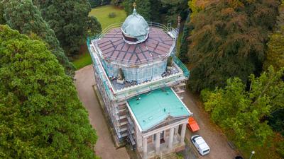 Vor über 100 Jahren hatte die Stourdza-Kapelle in Baden-Baden eine vergoldete Kuppel.