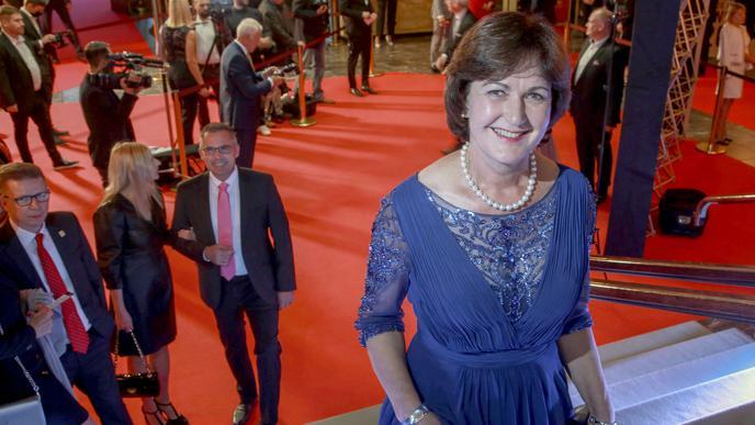 """Baden-Badens Oberbürgermeisterin Margret Mergen eröffnete gemeinsam mit Dieter Kersten die Verleihung der """"Made in Baden""""-Awards."""