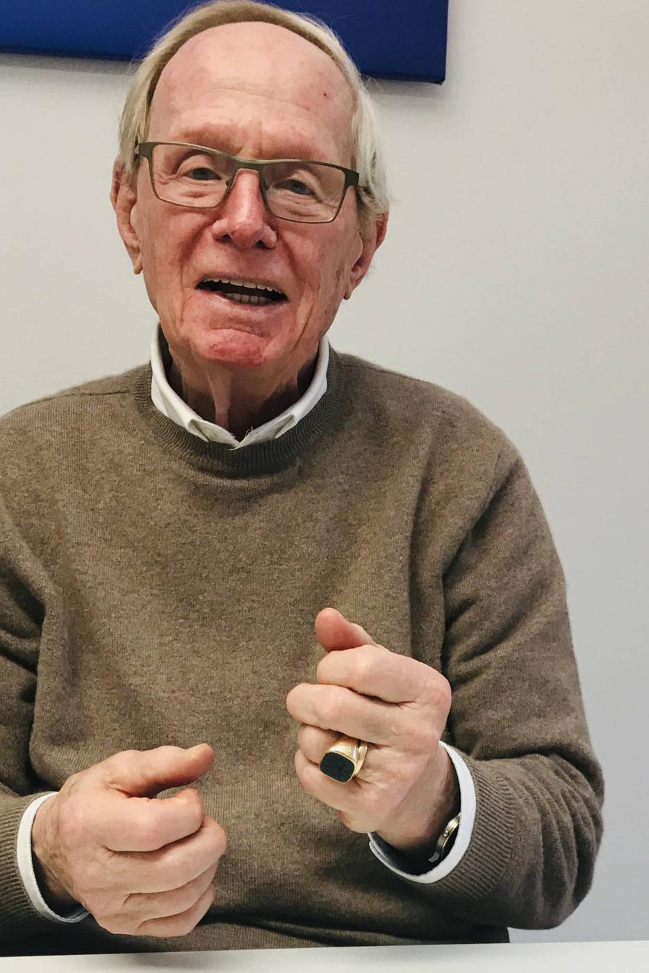 Peter Wien, war jahrelang Vorsitzender des Forum Zukunft in Baden-Baden und ehemaliger und erster Chefredakteur von arte