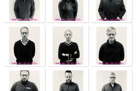 Fotos von Baden-Badener Unternehmern. Auf dem Bild steht: Ohne uns ist es still.