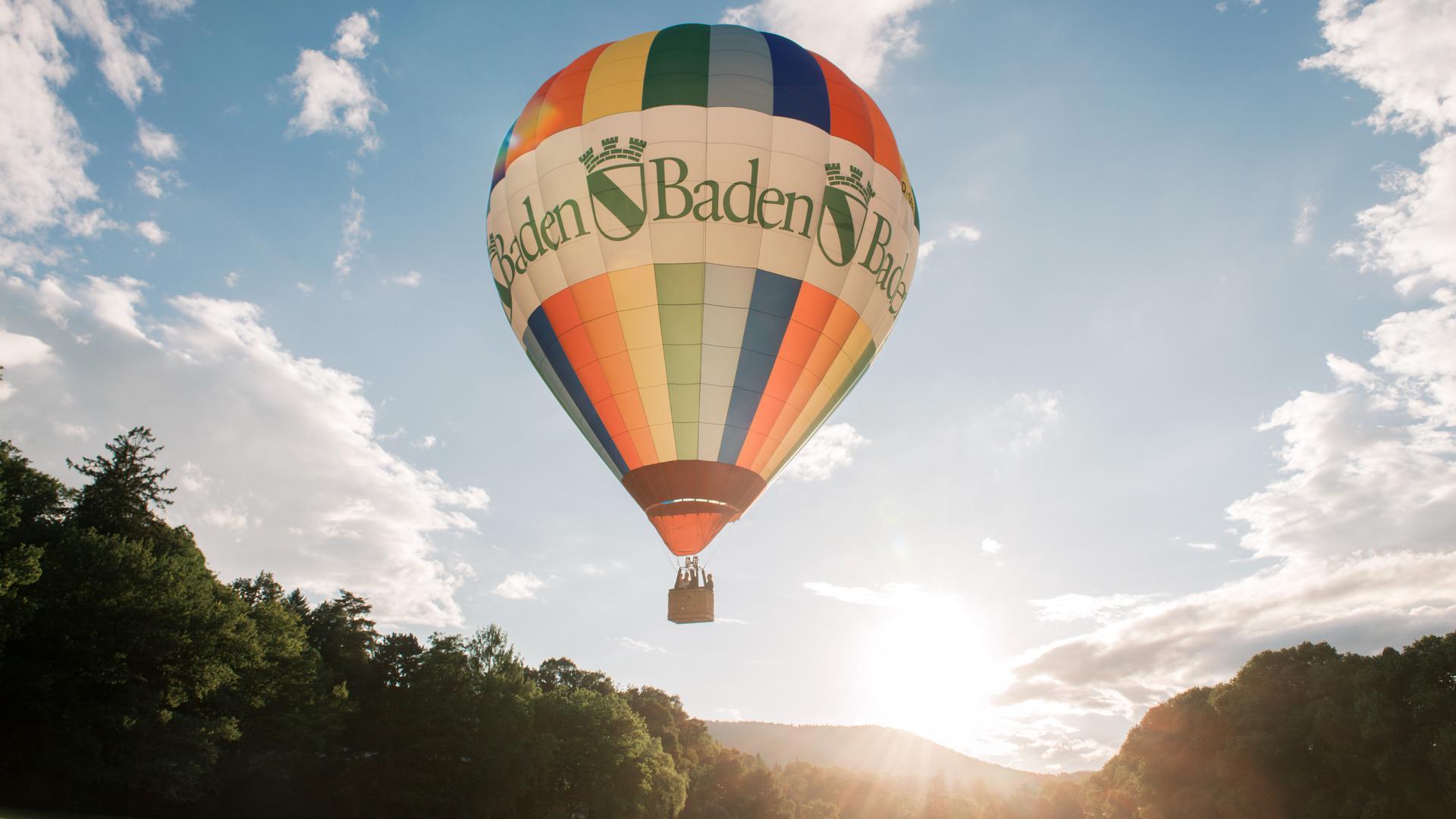 In luftiger Höhe: Der Hauptpreis der fünften Rätselrunde ist eine Ballonfahrt.