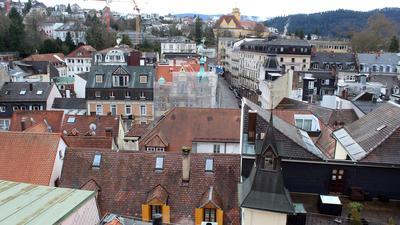 Derzeit in Arbeit: Im Herbst 2021 wird die Stadt Baden-Baden, hier ein Bild von der Altstadt vom Hotel am Markt aus gesehen, ihren nunmehr dritten qualifizierten Mietspiegel nach der Erstauflage im Jahr 2013 erhalten.