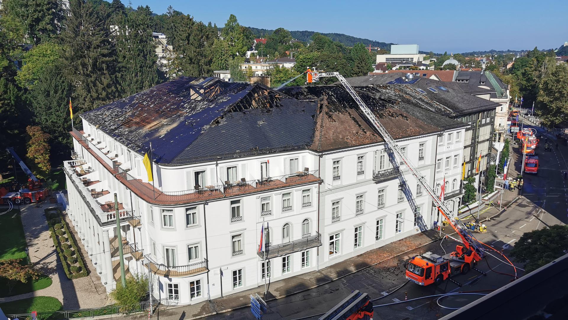 Brand Badischer Hof Baden-Baden