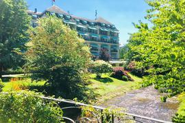 Die Gäste der Fünf-Sterne-Luxusherberge Brenners Parkhotel & Spa in Baden-Baden haben den Blick auf die weltberühmte Lichtentaler Allee.