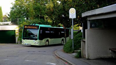 Buslinie in Baden-Baden
