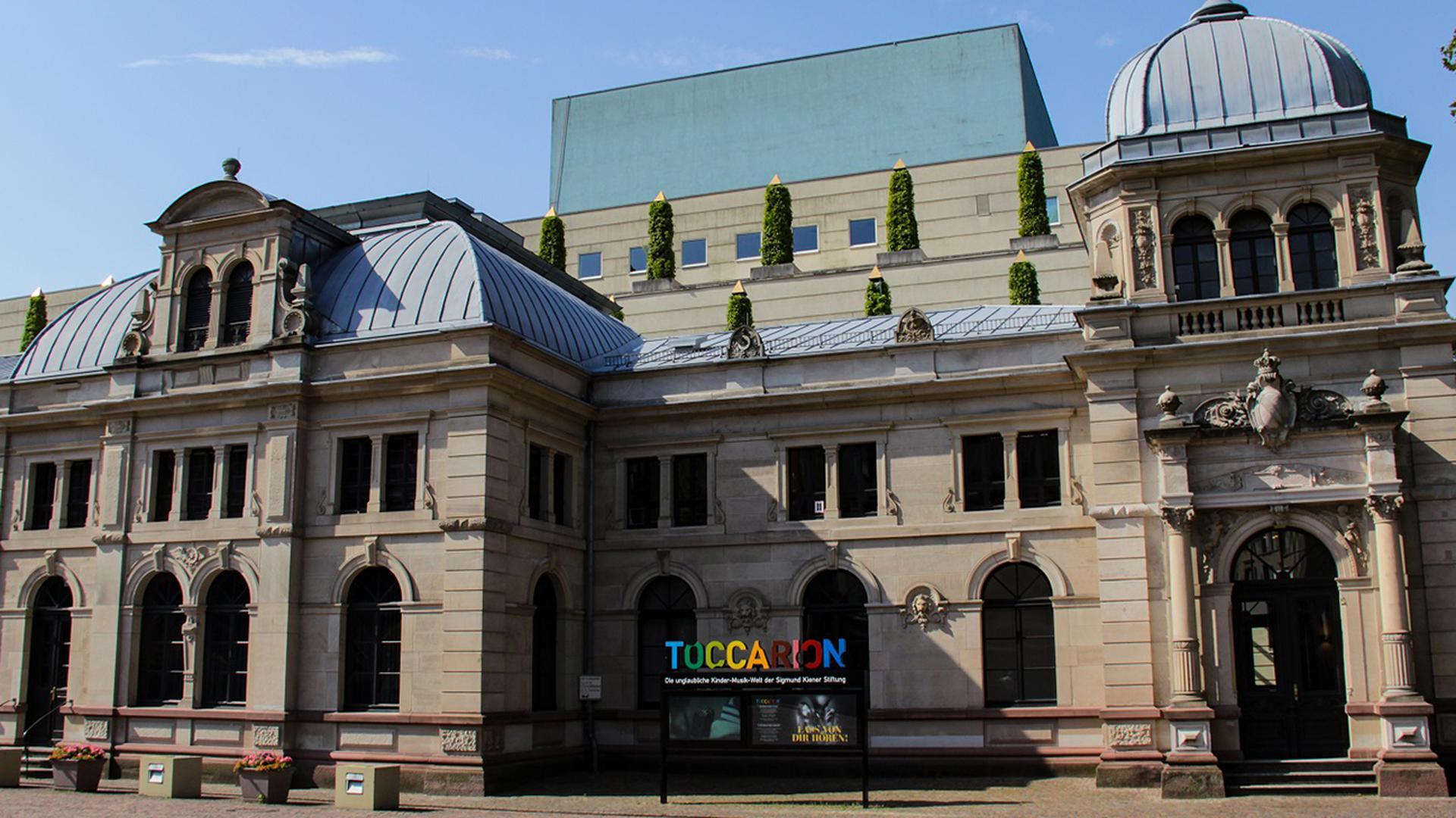 Die Kinder-Musik-Welt Toccarion teilt sich den Alten Bahnhof mit dem Festspielhaus Baden-Baden.