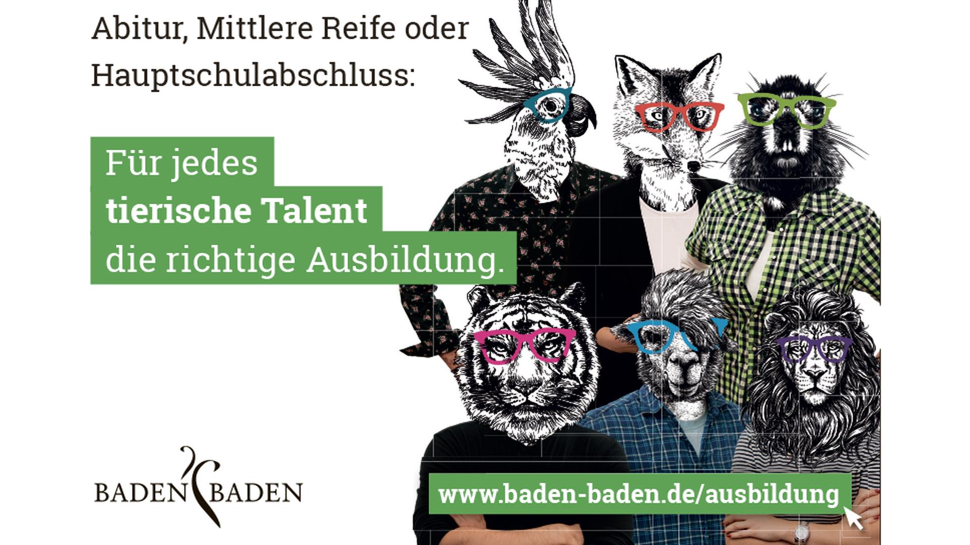Ausbildung oder Duales Studium bei der Stadtverwaltung Baden-Baden