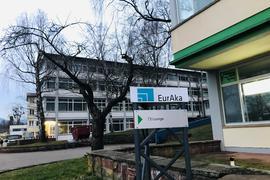 Den Charme der 50er-Jahre verbreiten Gebäude der EurAka, einem gemeinnützigen Tochterunternehmen der Stadt Baden-Baden.