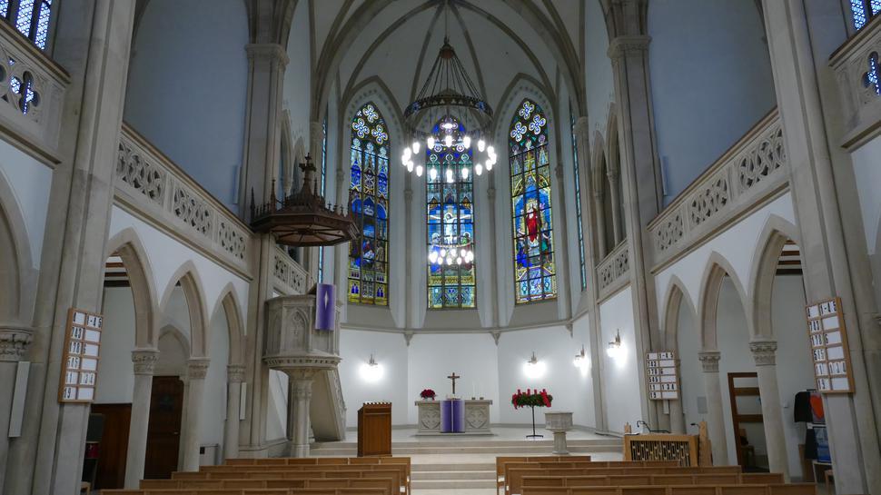 x Baden-Baden Januar 2017 Evangelische Stadtkirche