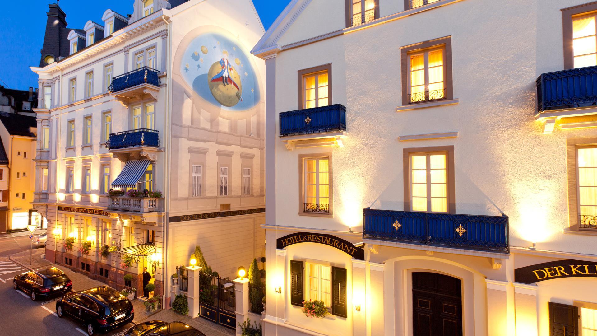 Fassadengemälde Hotel Kleiner Prinz