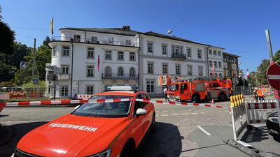 Erneuter Feueralarm im Badischen Hof.