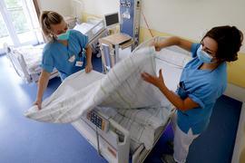 Nicht nur in Corona-Zeiten dringend benötigt, aber rar: Pflegefachpersonal wird auch im Klinikum Mittelbaden händeringend gesucht.