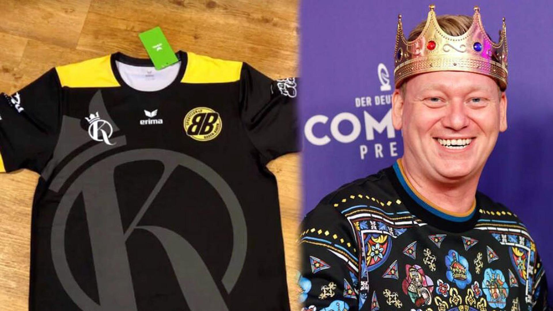 Twitch-Star wird Trikot-Sponsor: Jens Knossalla engagiert sich in seiner Heimat für den SC Baden-Baden.