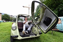 17.07.2021 Oldtimer-Meeting Baden-Baden / Heinkel Kabinenroller