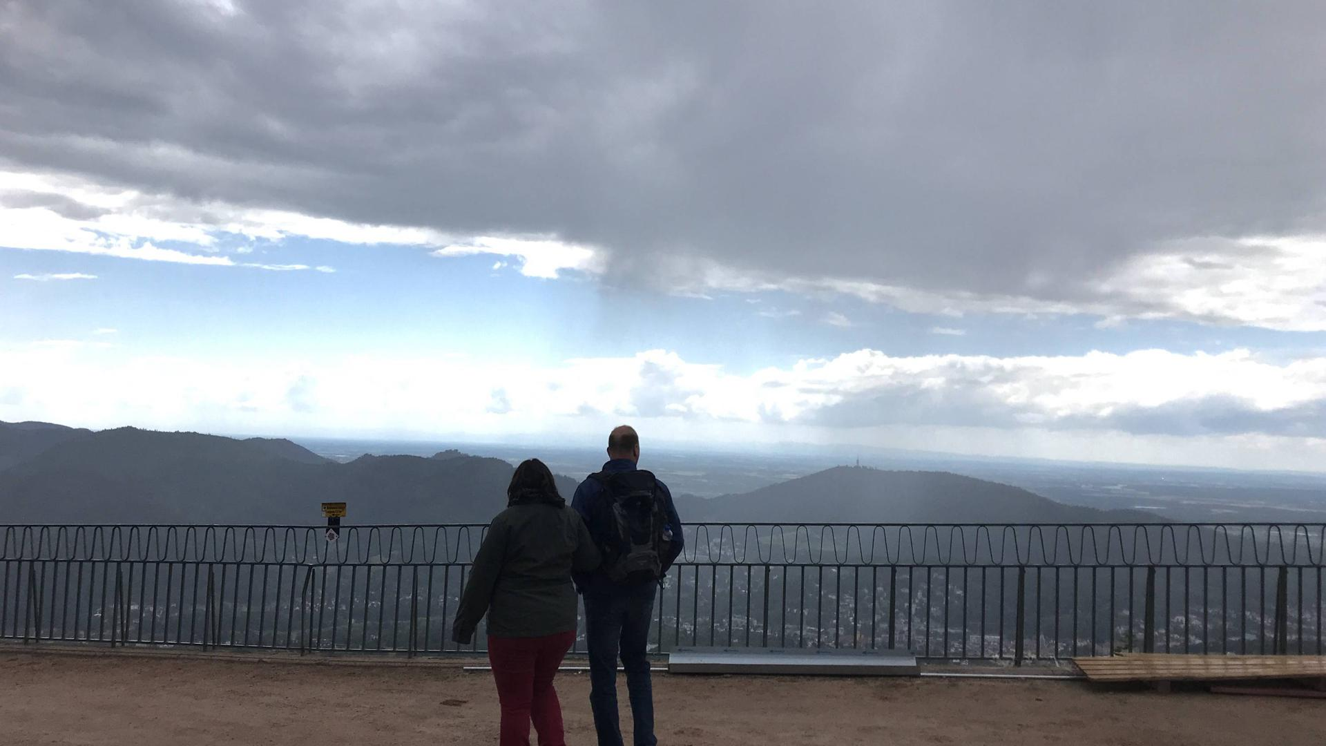 Blick vom Merkur Baden-Baden