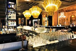 Das renommierte Restaurant The Grill im Casino Baden-Baden kann wegen des Lockdowns nicht öffnen. Im noblen Ambiente herrscht gähnende Leere.