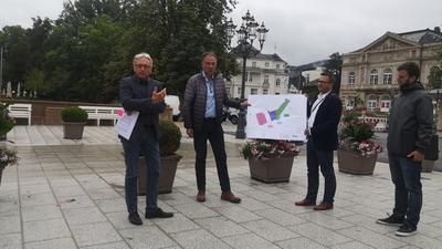 Besprechung Fieserbrücke Baden-Baden, neuer Belag