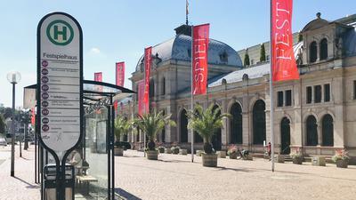 Ansicht des Festspielhauses in  Baden-Baden.