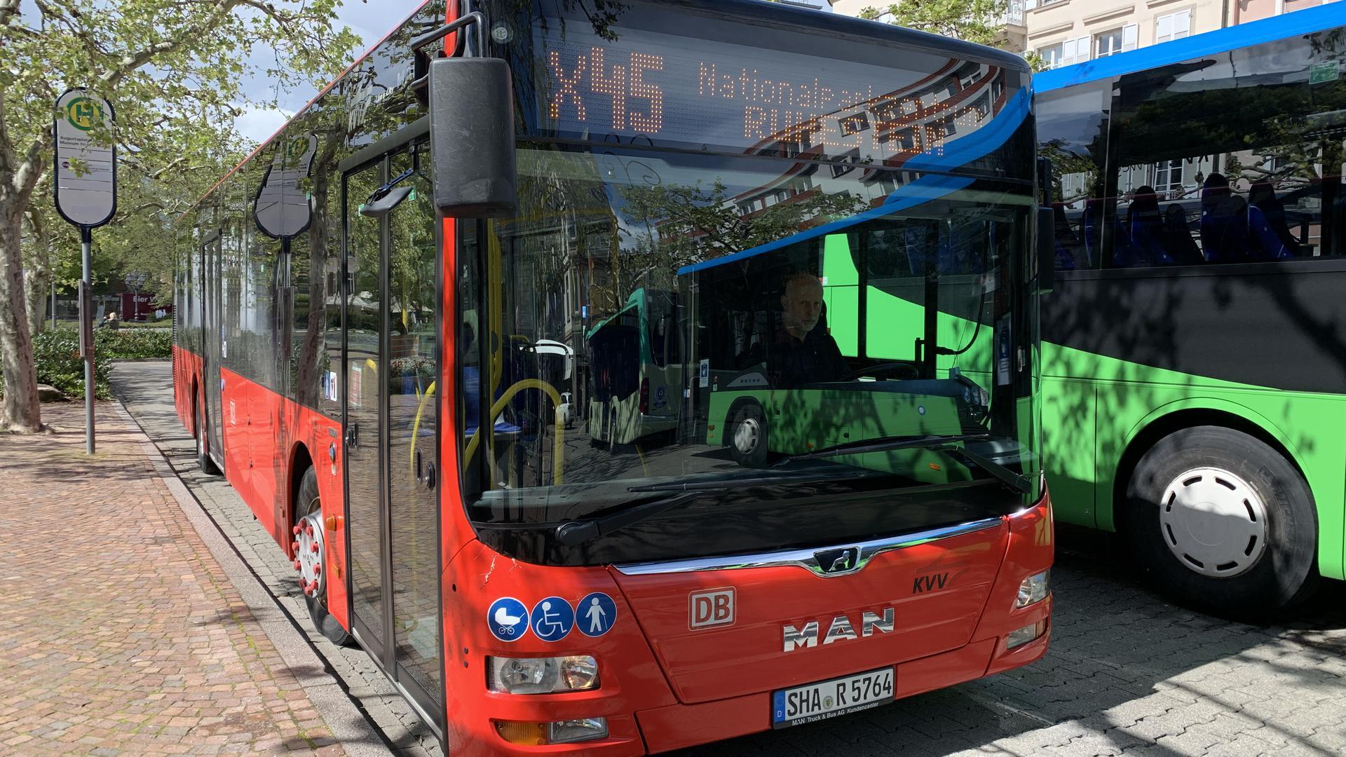 Betriebsausschuss: Nationalpark, Buslinie in Baden-Baden