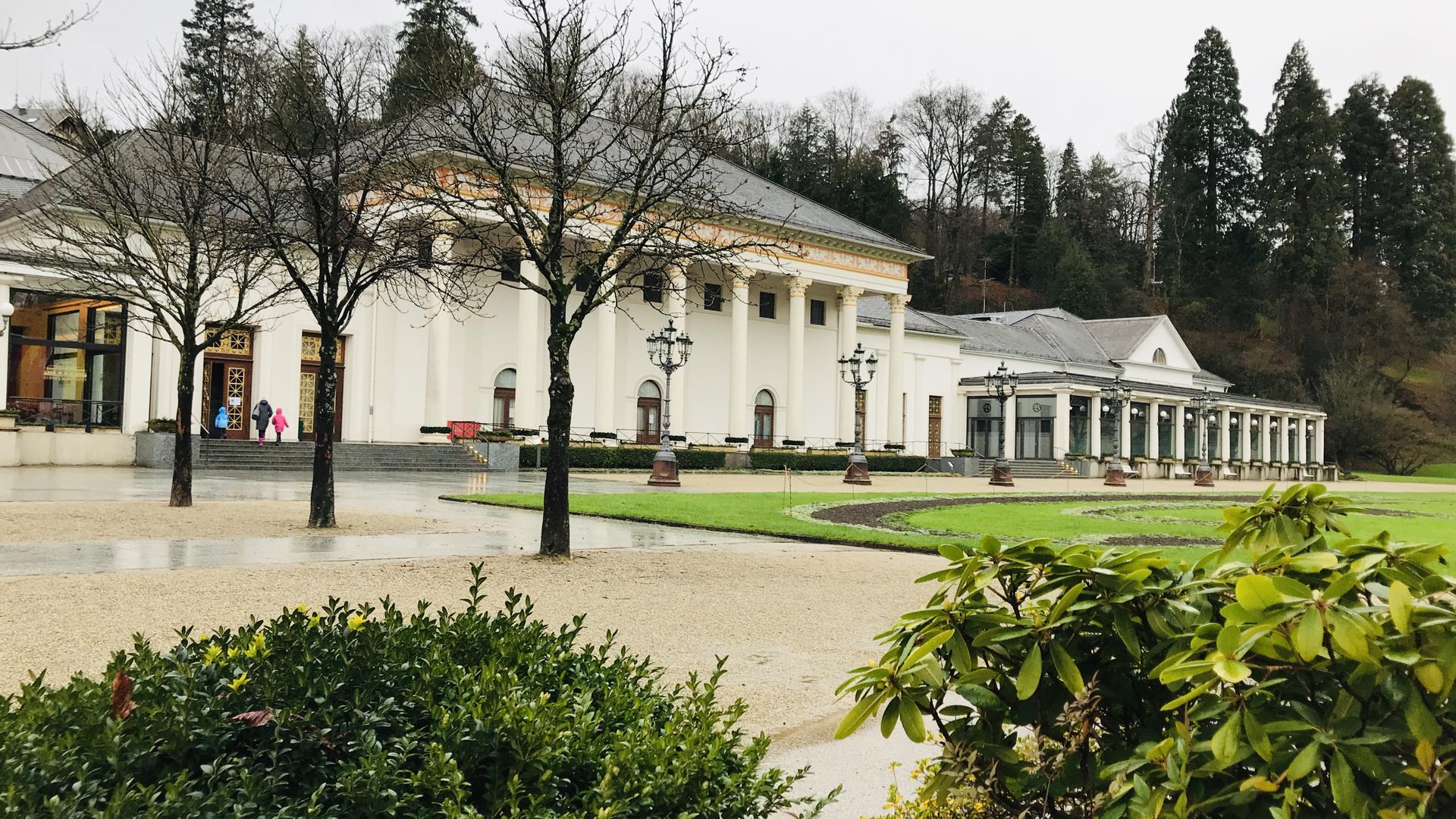 Kurhaus Baden-Baden - hier wäre eigentlich der Christkindelsmarkt
