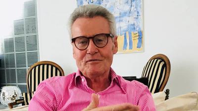 Ulrich Wendt, Ex-OB Baden-Baden, Bühl, Ex Landtagsabgeordneter, im Hause Wendt, Gespräch vor seinem 75. Geburtstag