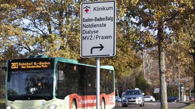 Buslinie 203 fährt zur Klinik