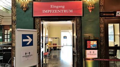 Das Kreisimpfzentrum Baden-Baden ist in die Bel Etage des Kurhauses umgezogen.