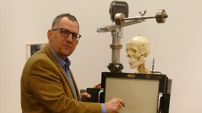 Das Skelett soll zeigen, was das Gerät sichtbar machen kann.