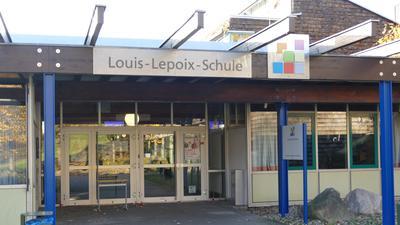 Haupteingang zur Louis-Lepoix-Schule Baden-Baden