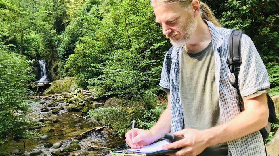 Michael Jarmuschewski vom Deutschen Wanderinstitut hat 2019 den Panoramaweg als Premium-Wanderweg erneut zertifiziert.