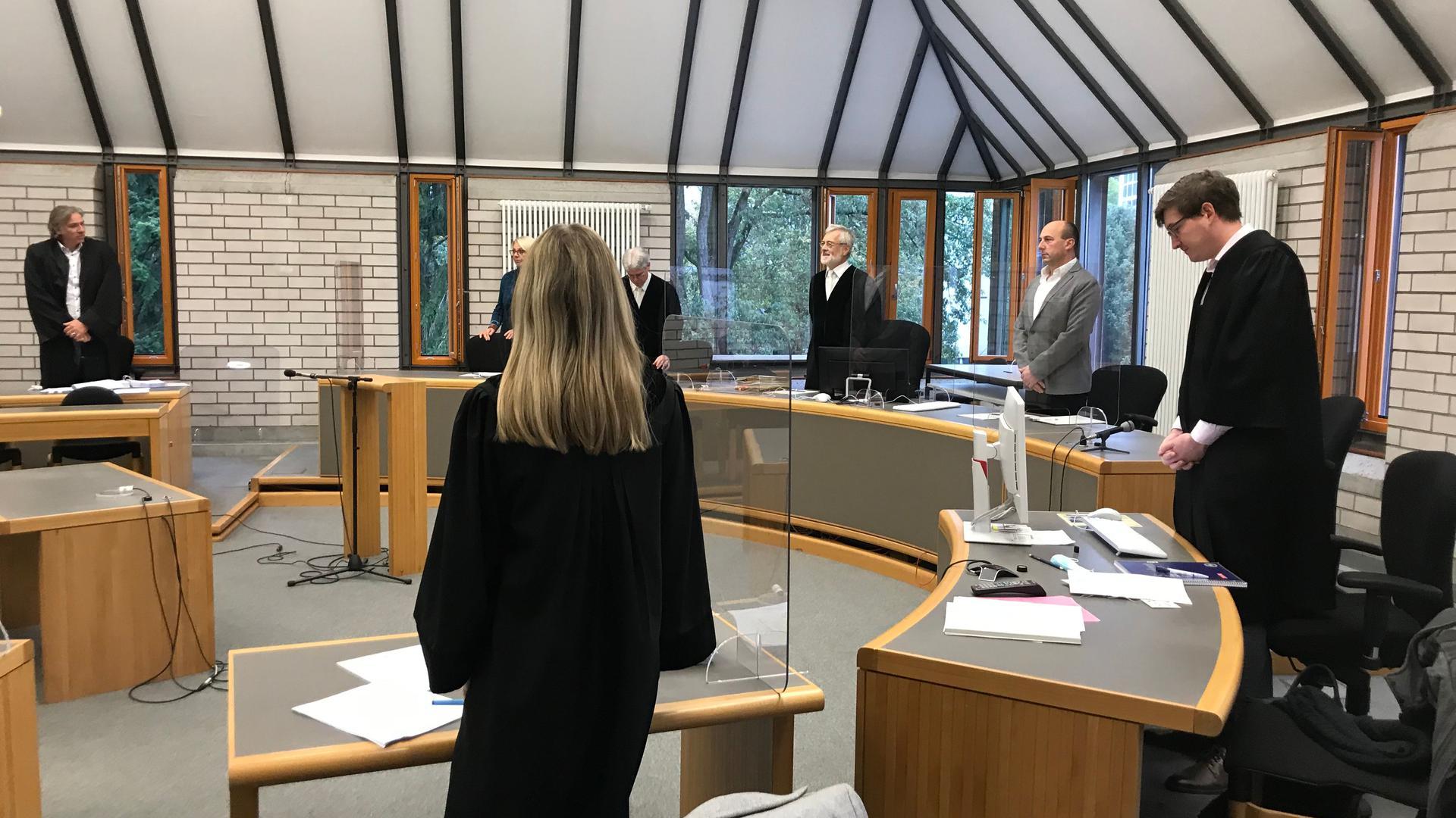 Die Große Kammer am Landgericht Baden-Baden unter Vorsitz von Richter Wolfgang Fischer beschäftigt sich mit der mühsamen Wahrheitsfindung.