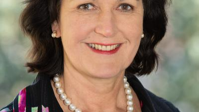Oberbürgermeisterin Magret Mergen