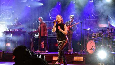 16.09.2021 Kurhaus Baden-Baden Open-Air Bühne: SWR3 New Pop Festival mit Sigrid